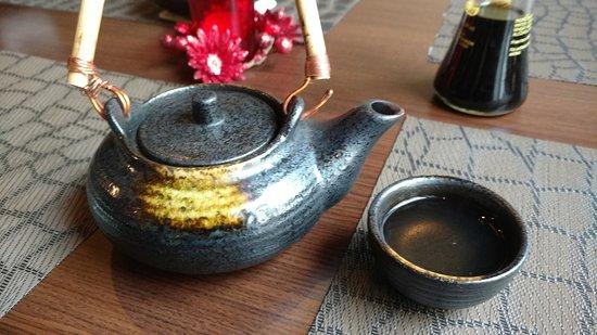 Erkelenz, ألمانيا: Grüner Tee zum Essen. Sehr lecker.
