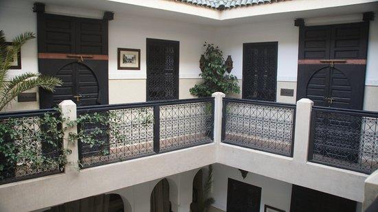 Riad Anjar: Innenhof 1. Etage