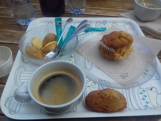 Muffin Pommes Et Madeleine Fleurs D Oranger Cannelle Poudre D