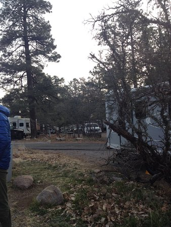 Flagstaff Grand Canyon KOA: Good services, hiking from the property