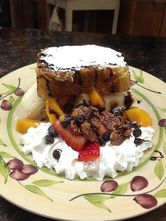 Blacksburg, VA: Banana Split French Toast