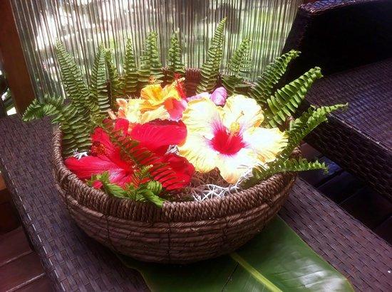 Hotel Rapa Nui: Decoracion ,comedor