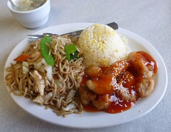 Spokane Valley, WA: Sweet & Sour Pork/Chicken Chow Mein Combo...