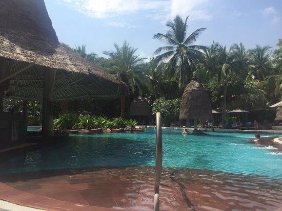 Nice tropical hotel