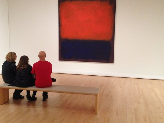 San Francisco Museum of Modern Art (SFMOMA) : One of SFMOMA's best Rothko paintings