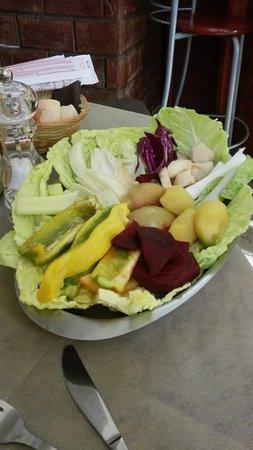 La verdura per la bagnacauda - Picture of II Berchet, Turin ...