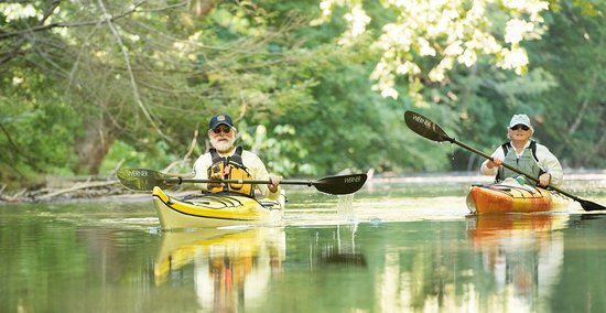 Shank's Mare: Kayaking at Shank's Mare on the Susquehanna River