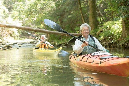Wrightsville, PA: Shank's Mare Kayaking back Fishing Creek