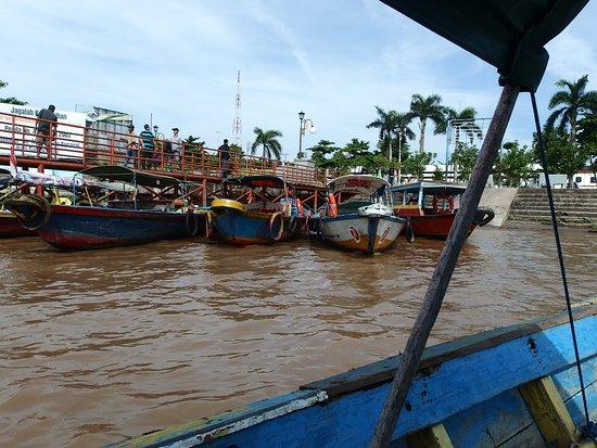 Jembatan Ampera: 別の船着場と渡し舟