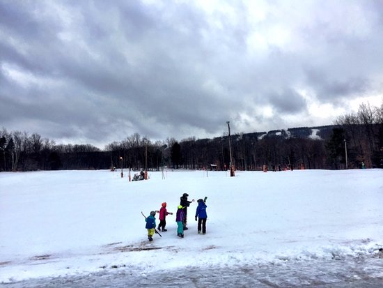 Highmount, Nova York: On the nursery slopes