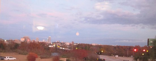 West Columbia, SC: View of Columbia from the restaurant