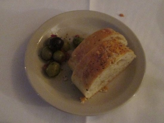 West Columbia, SC: Bread and olives