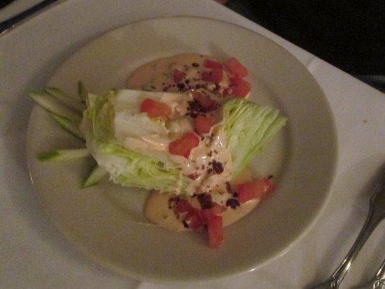 West Columbia, SC: Wedge salad