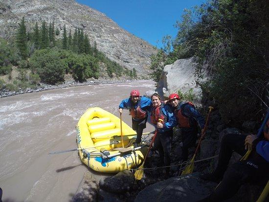 Cascada de las Animas: Tremendo día de rafting