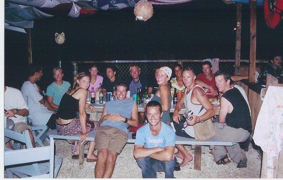 Utila, Honduras: Always new friends around.