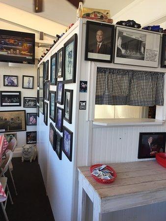 Perry, Geórgia: Inside of restaurant
