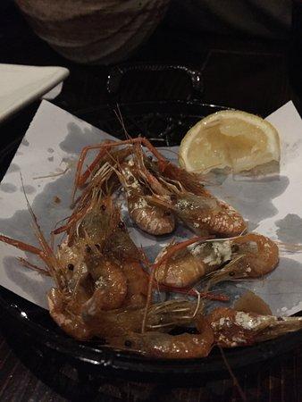 Doraville, GA: Koebi Karaage - fried river shrimp