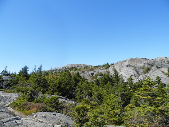 Jaffrey, NH: nearly at the top