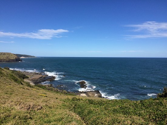 Morgan's Bay, South Africa: View of sea and cliffs