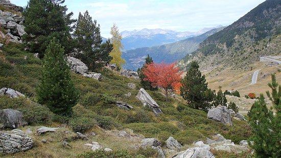 Encamp, Andorra: vue sur la vallée