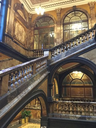 City Chambers: Another marble staircase