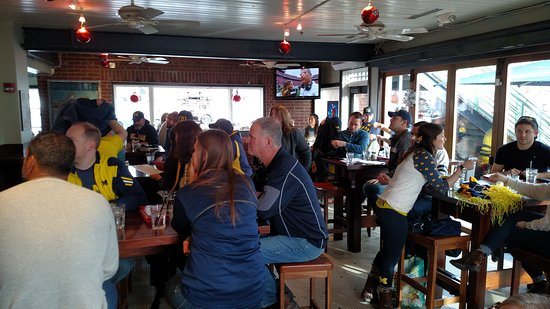 Gracie's Bar: Not 110,000 but a great Michigan crowd
