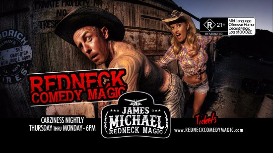 Redneck Comedy Magic James Michael