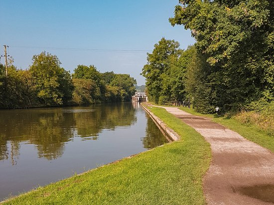 Hatton, UK: Canal towpath