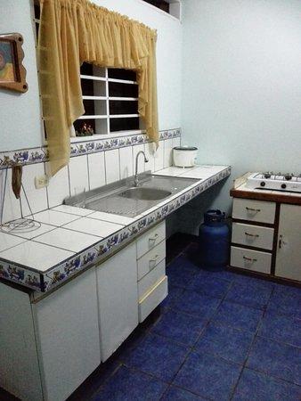 Cabinas Cristina Playa Tambor: The Kitchen for the apartment