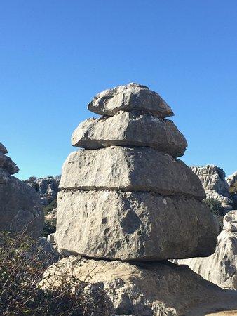 Villanueva de la Concepción, España: Rocks at El Torcal