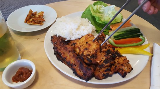 Kimchi Kim Saay Special Korean Bbq Marinated Chicken Thighs And Sliced Pork Belly With