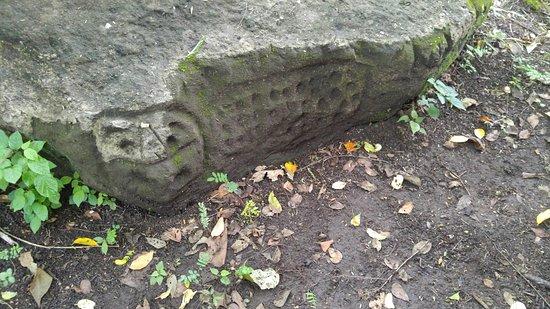 La Cruz, Kostaryka: Ancient Carvings