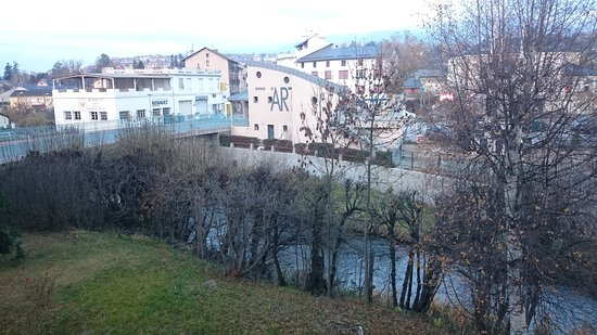 Bourg-Madame, ฝรั่งเศส: Vista hacia el oeste, hacia Puigcerdá
