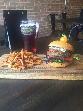 Arnprior, Canada: Our Pioneer burger is sure to please!