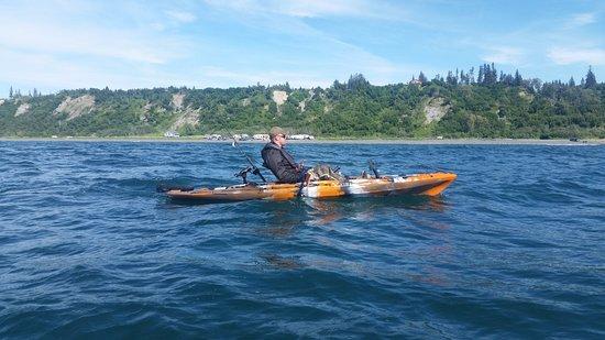 Alaska kayak fishing vibe seaghose picture of alaska for Rent fishing gear