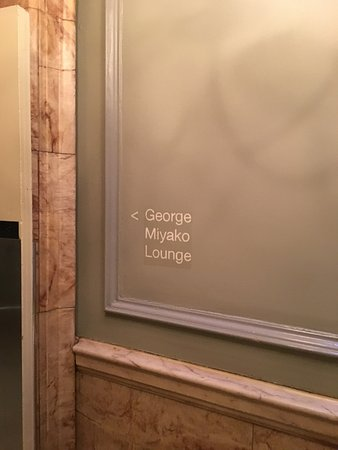 Andaz London Liverpool Street: Cool signage - still a little confusing