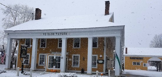 Manchester, VT: The 1st accumulation of the season!