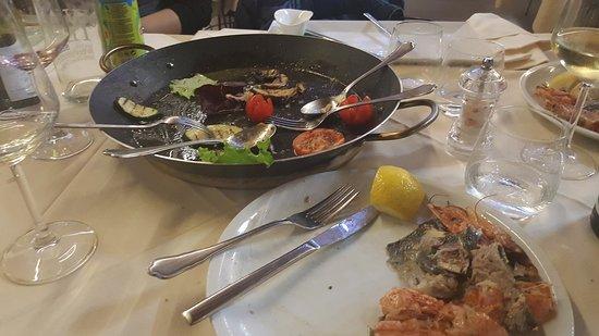 Cadrezzate, Italia: Ottima qualità, ottimo cibo, Il servizio al tavolo indimenticabile con eleganza e simpatia. Ve l