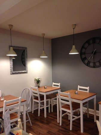 Kegworth, UK: Oliver's Cafe