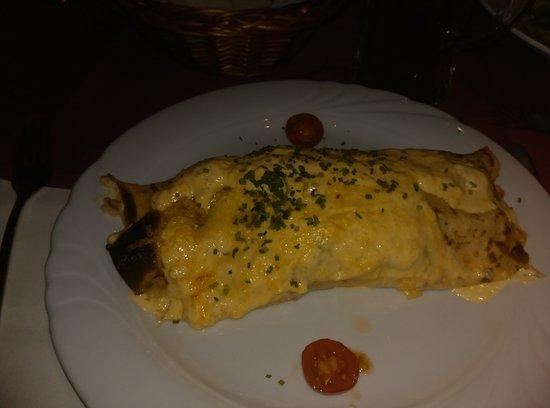 Hotel Landgasthof Zum Goldenen Schwanen: Спаржа в сливочном соусе. В одиночку съесть реально. Но тяжко.