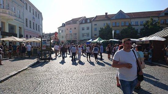 Uherske Hradiste, Çek Cumhuriyeti: Mariánské náměstí Uherké Hradiště