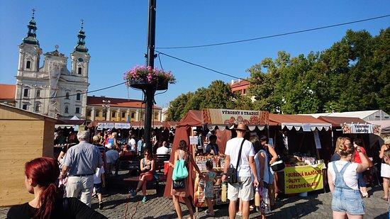 Uherske Hradiste, Czech Republic: Mariánské náměstí Uherké Hradiště