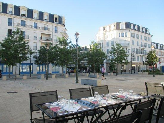 La Garenne-Colombes, Francia: la terrasse