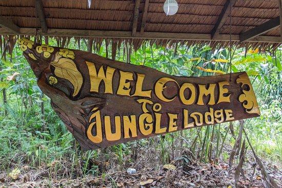 Gunung Leuser National Park, Indonesia: Hotelschild