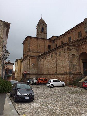 Bertinoro, Włochy: Собор Святой Катерины в Бертиноро