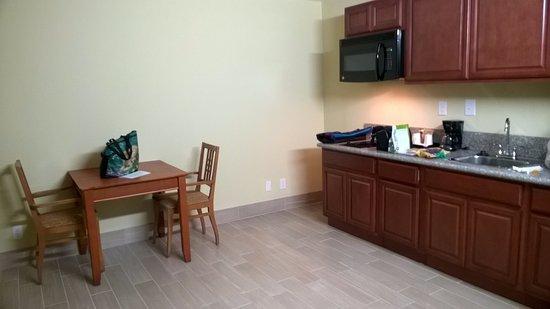 Strange Kitchen Set Up Huge Empty Room With Cabinets