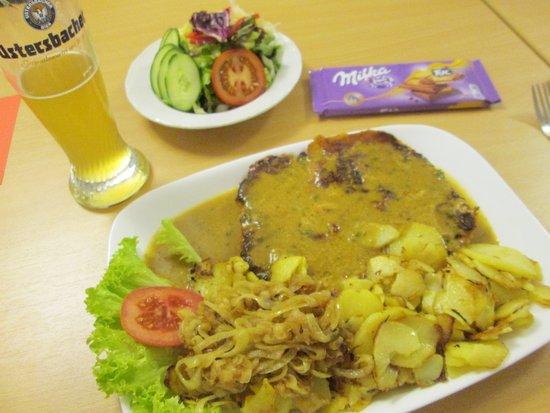 Gersthofen, Alemania: Schnitzel