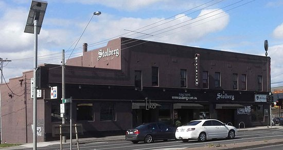 "Preston, Australia: View from Bell Street, note ""Beer Cafe"" sign removed"