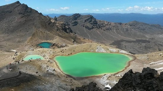 Adventure Lodge & Motel: On the Tongariro Crossing walk. Lodge shuttle does drop off and pick up