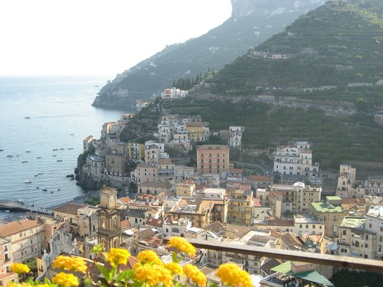 Bed and breakfast villa marietta minori italy amalfi for Bed and breakfast amalfi coast